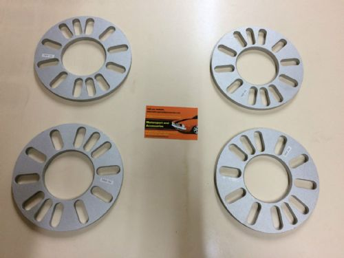 WHEEL SPACERS 9MM x4 SHIMS SOLID ALLOY WHEEL SPACERS 4 AND 5 STUD